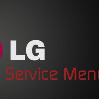 LG SERVICE MODE MENU