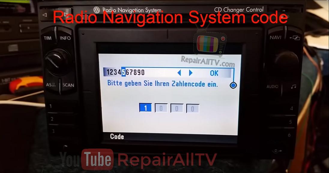Radio Navigation System VWZ1Z7