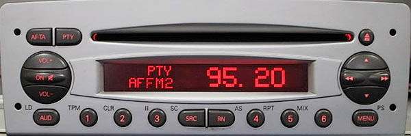 Alfa romeo 156 CD HIGH BP 0378 code