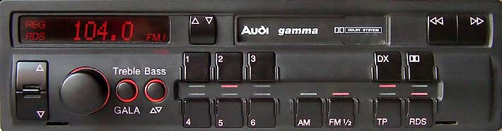 AUDI GAMMA CC AUZ2Z3 wide panel