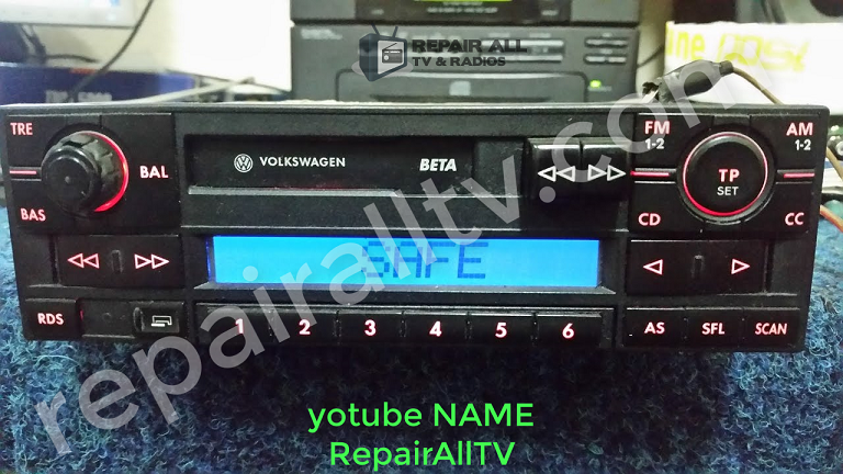 BETA VWZ1Z2 BLAUPUNKT code eeprom file 25160-95160 | RepairAllTV