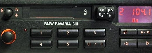 BMW BAVARIA C III BP1830 code