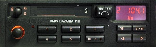 BMW BAVARIA C III BP1830 code