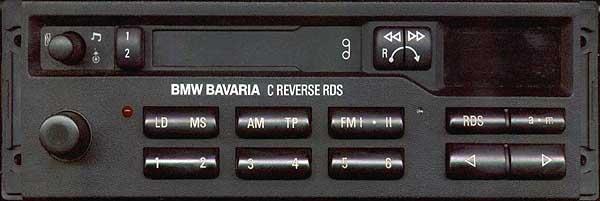 BMW BAVARIA C RDS BP1836 code