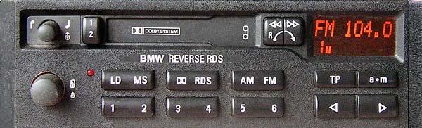BMW BAVARIA C22 RDS BP3836 code