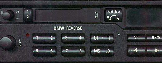 BMW BAVARIA REVERSE code
