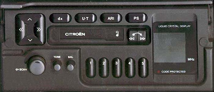 CITROEN PF1 C BP1761 code
