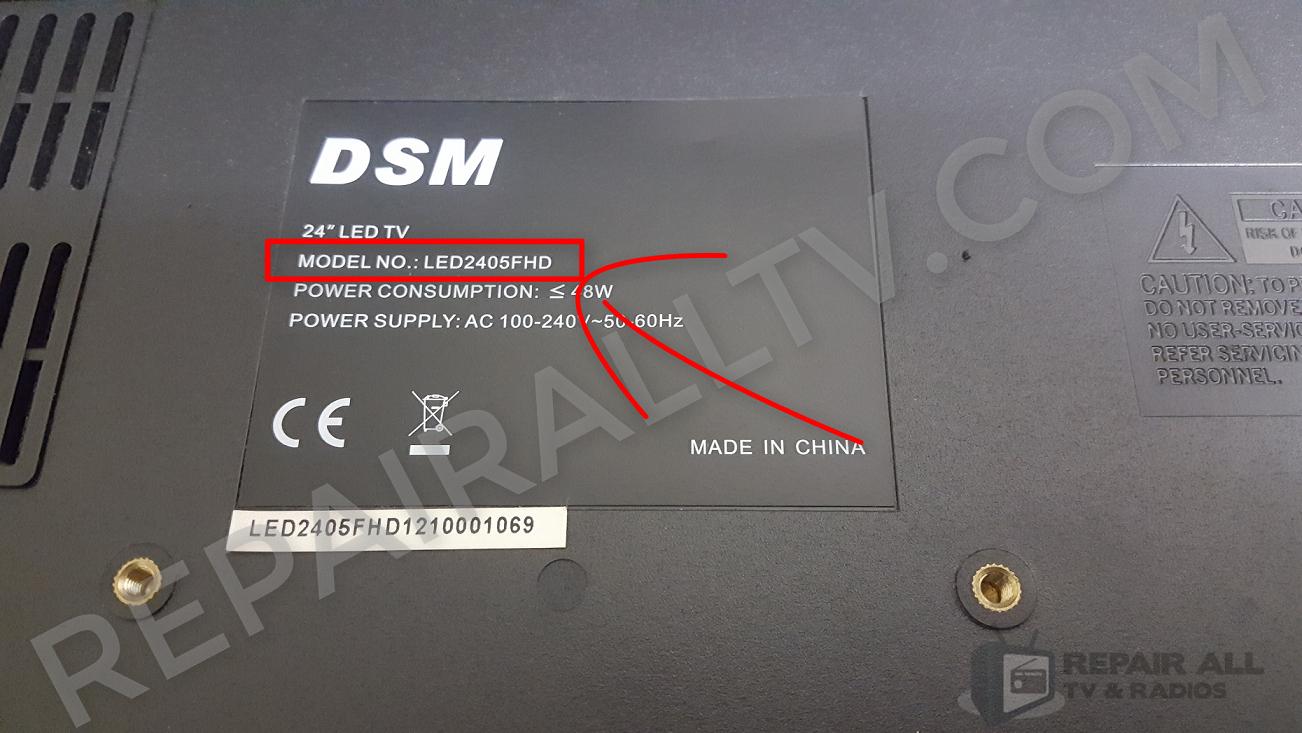 DSM LED2405FHD