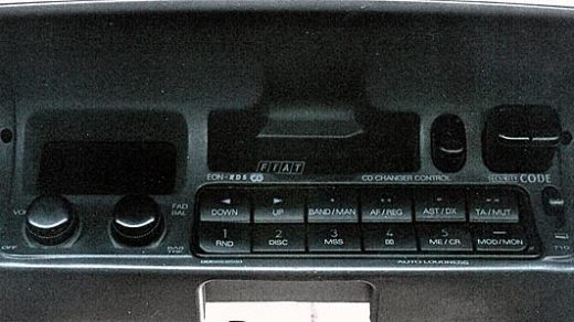 FIAT 22 DC710-64S PHILIPS CODE