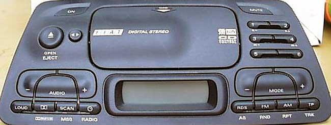 FIAT AD185HB GRUNDIG FA1022 CODE