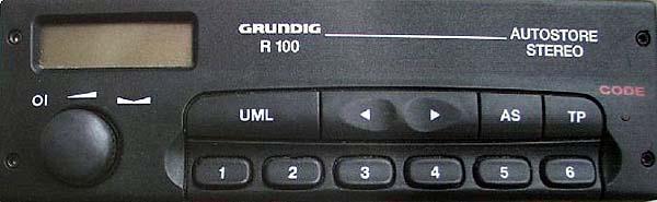 GRUNDIG R100 D GM0100 CODE