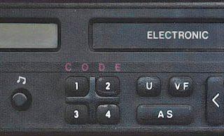 OPEL M101 B GM0101 only CODE