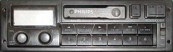 PHILIPS 22 DC741/00 CODE