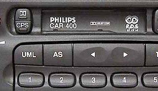 PHILIPS CAR400 MK1 DC396/75E no display CODE