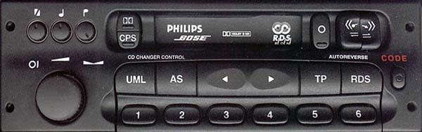 PHILIPS CCR800 BOZE GM0800 no display CODE