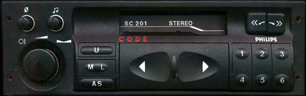 PHILIPS SC201(C) GM0201 without display CODE