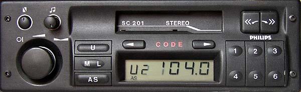 PHILIPS SC201D(C) GM1201 CODE