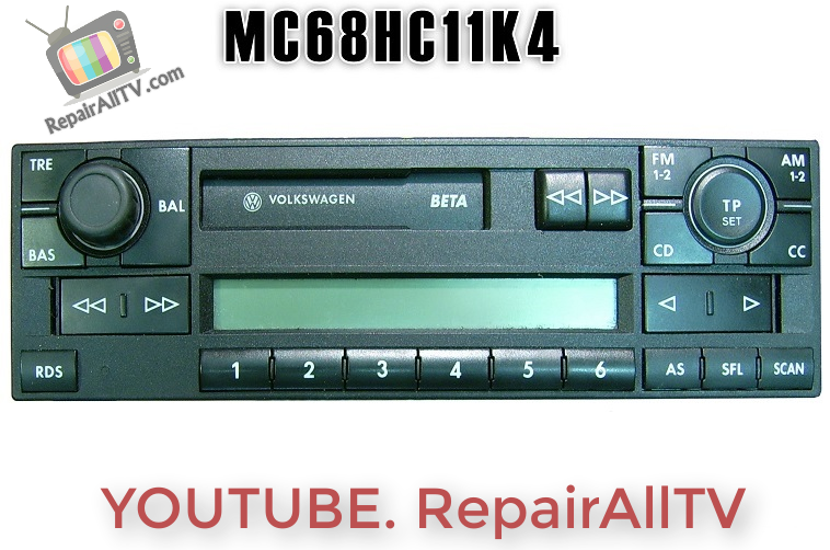 VW BETA5 VWZ2Z2 GRUNDIG CODE MC68HC11KA4