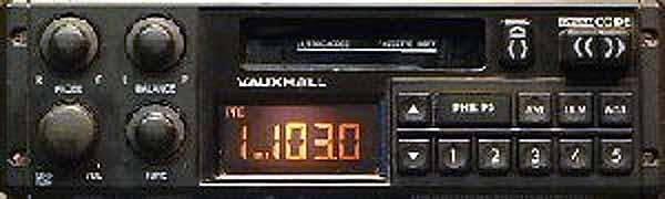 VAUXHALL PHILIPS 22DC670 GM1670 CODE