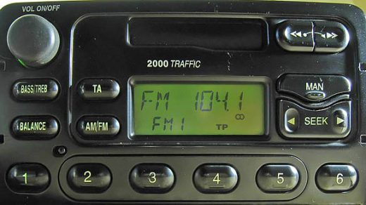 ford 2000 traffic YC1F-18K876-AA code