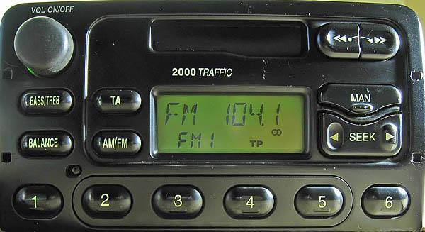 ford 2000 traffic YC1F-18K876-AA code