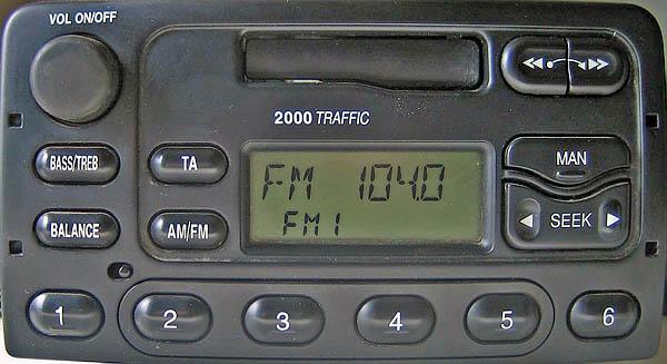 ford 2000 traffic YC1F-18K876-BA code