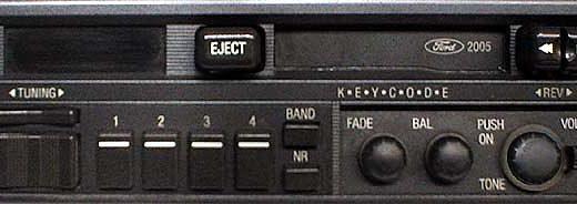 ford 2005 89FB-18K876-AA code
