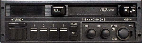 ford 2005 89FB-18K876-AB code