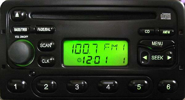 ford 4600 CD XS4F 18C838 BB code