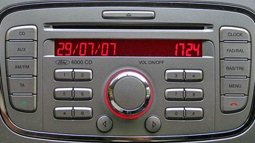ford 6000 CD SINGLE CD-GGDS 7S7T-18C815-BA code