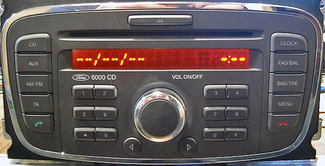 ford 6000 CD SINGLE CD KW2000 FDB2006