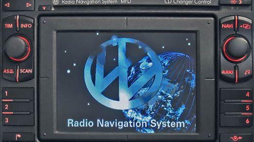 Radio Navigation System MFD 1 VWZ1Z7 Blaupunkt