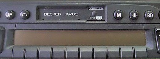 BECKER AVUS code