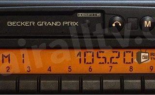 BECKER GRAND PRIX 2000 BE 2140 code