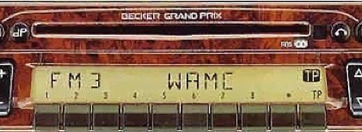 BECKER GRAND PRIX 2000 CD be 2232 code