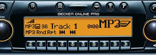 becker online pro radio code