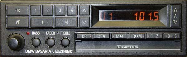 BMW BAVARIA C ELECTRONIC be 0728 code