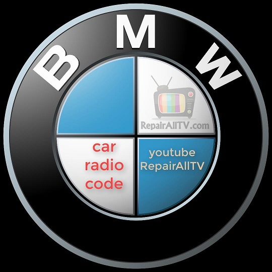 BMW PROFESSIONAL RDS BE 3455 code