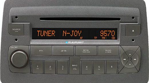 FIAT IDEA CD MP3 blaupunkt BP3365 CODE