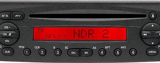 FIAT DUCATO CD blaupunkt BP3318 code