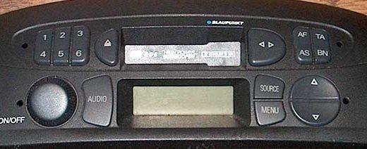 FIAT PUNTO MID RHD BP9375 code