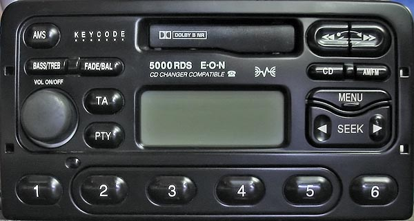 FORD 5000 RDS DIVERSITY code
