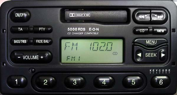 FORD 5000 RDS EON code