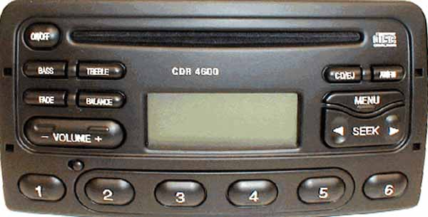 FORD CDR 4600 code