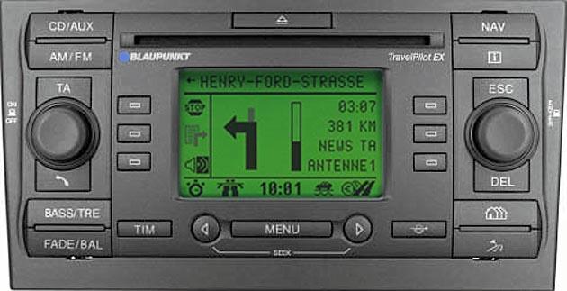 FORD TRAVELPILOT EX CD132 BP0511 code