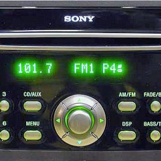 FORD SONY CD132-CD6 5S7T-18C815-CG CDX-FC132 visteon code free
