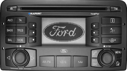 FORD TRAVEL PILOT 132 BP0500 code free