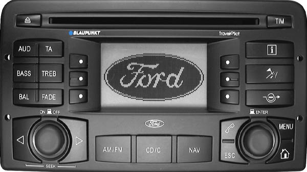 FORD TRAVELPILOT 170 blaupunkt BP0500 code