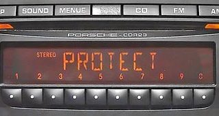protect off PORSCHE CDR-23 BECKER BE6627 BE6611 BE6612 BE6623 EEPROM 24C16