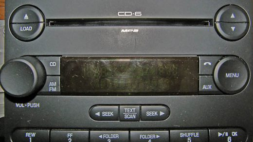 ford CD-6 MP3 8C3T 18C815 GC code